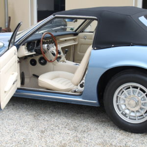Maserati Ghibli Spider Blue